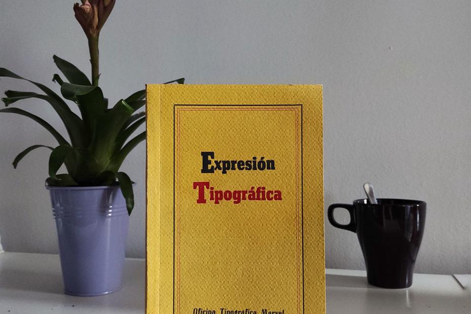 """0Libro artesanal """"Expresión Tipográfica"""""""