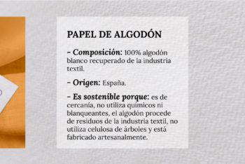 Papel de algodón