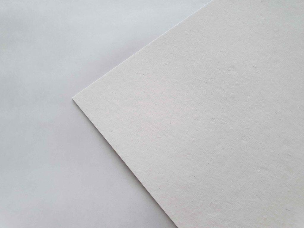 Papel de algodón blanco